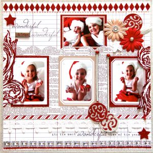 CHRISTMAS DOUBLE PAGE 2013 2